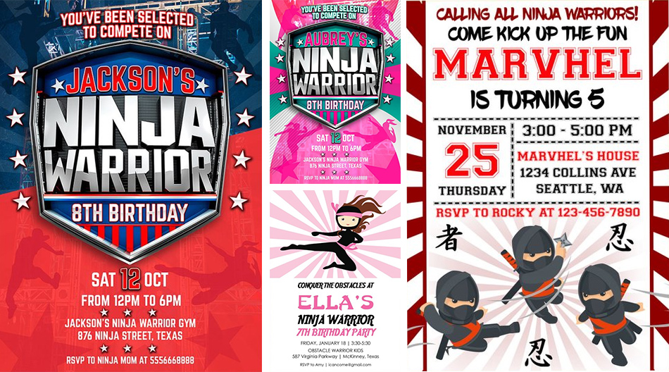 How To Organize An Epic Ninja Warrior Party In Your Backyard