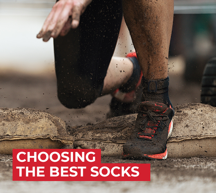 The best socks you could wear for an obstacle race is the high-knee socks with extra paddings because it got the essential protection you need against ...